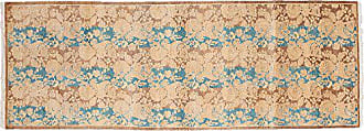 Solo Rugs Mogul Hand Knotted Runner Rug 2 8 x 7 10 Brown
