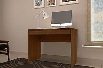 JB Bechara Escrivaninha Mesa para Computador 6080 Cor Castanho