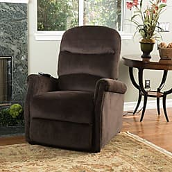 GDF Studio Christopher Knight Home 298308 Alan Lift Up Recliner Chair, 33.08D x 36.23W x 40.95H, Chocolate