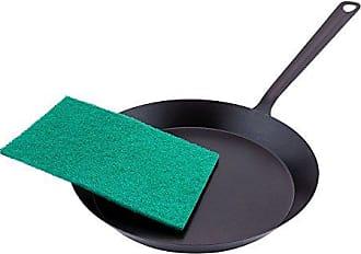 Restaurantware Scouring Pad, Cleaning Pad, Kitchen Pad - Green - 9 x 6 - Heavy Duty - 10ct Box - Restaurantware