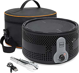 Best Choice Products 16in Portable Electric Tabletop Charcoal BBQ Grill w/ Travel Bag, Tongs