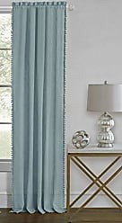 Ben&Jonah Ben & Jonah PrimeHome Collection Wallace Rod Pocket Window Curtain Panel-52x63-Aqua, Aqua