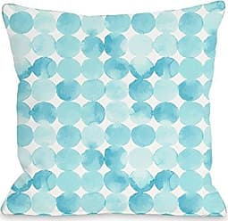 One Bella Casa 74497PL16 Pillow 16 x 16 x 3 Blue