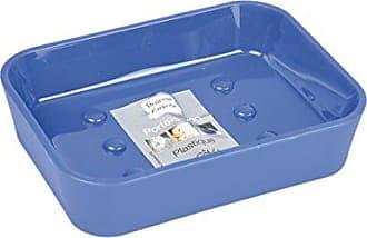 Douceur dInt/érieur Dispenser di Sapone Effetto Soft Touch 7/x 7/x 17,5 cm Vitamina Azzurro