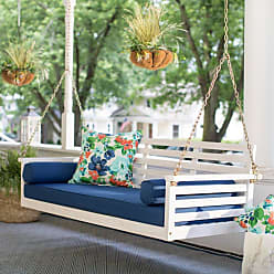 Belham Living Outdoor Belham Living Brighton Beach Deep Seating Porch Swing Bed with Cushion - VFS-GO86HD BEACH