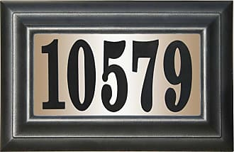 QualArc Edgewood Classic DIY Lighted Address Plaque - LTP-1304