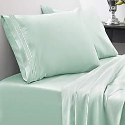 Sweet Home Collection 1800 Thread Count Sheet Set - Soft Egyptian Quality Brushed Microfiber Hypoallergenic Sheets - Luxury Bedding Set with Flat Sheet, Fitted Sheet, 2 Pillow Cases, Full, Mint