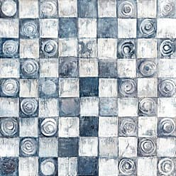 Portfolio Canvas Decor Canvas Print Wall Art - Checkers - 24x24 by Sandy Doonan Stretched and Wrapped, Ready to Hang