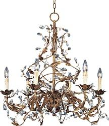 Maxim Lighting Maxim 2851EG Elegante 6-Light Chandelier in Etruscan Gold