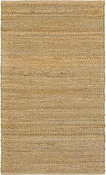 L.R. Resources Inc. NATUR03301GRN5079 Natural Fiber LR03301-GRN5079 Green Rectangle 5 X 7 ft 9 inch Plush Indoor Area Rug, 5 x 79