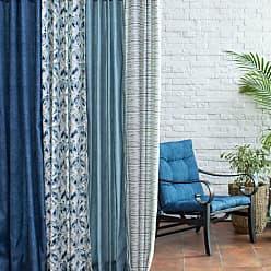 Belham Living New Harbor 84 in. Outdoor Curtain Panel Frost Blue - NEW HARBOR57