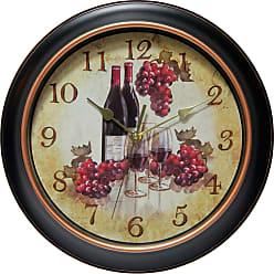 Infinity Instruments Valencia Wall Clock - 14877BG-3967