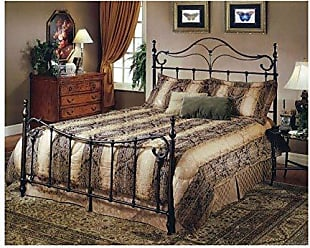 Hillsdale Furniture Hillsdale Furniture 1249BFR Bennett Bed Set with with Rails, Full, Antique Bronze