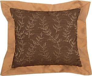 Wooded River Autumn Leaf WD1264 Decorative Pillow - WD1264