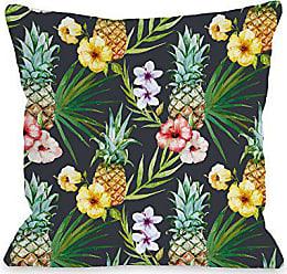 One Bella Casa 74499PL16 Pillow 16 x 16 x 3 Multicolored