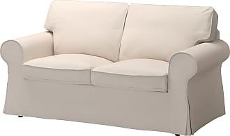 Schon IKEA EKTORP, 2er Sofa, Lofallet Beige, Beige