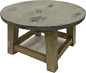 Essential Decor & Beyond Inc EN32184 Wooden Round Table