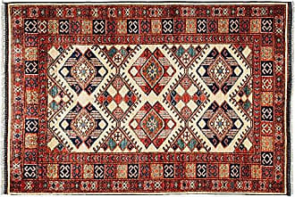 Solo Rugs Ziegler Hand Knotted Area Rug 4 0 x 5 10 Red