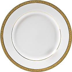 10 Strawberry Street Paradise 11.875 Charger/Buffet Plate, Set of 6, Gold