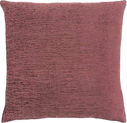 Monarch Specialties I 9300 Chenille Look Decorative Pillow Throw, 18x 18, Dusty Rose