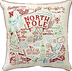 Primitives By Kathy Decorative Super North Pole Holiday Throw Pillow