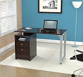 Inval America Inval ES-8003 Writing Desks, Medium, Espresso