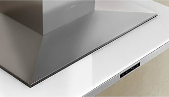 Zephyr 42W in. Layers Wall Mounted Range Hood with White Glass - ALA-E42BWX