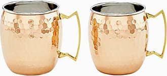 Old Dutch International Old Dutch 2P428H Mule Mug, 16 oz, Copper