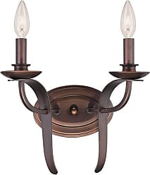 Millennium Lighting Austin 2-Light Wall Sconce in Rubbed Bronze
