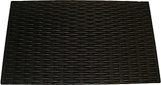 Geo Crafts Rubber Doormat, Bronze