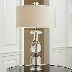Global Views Classic Bulb Crystal Table Lamp