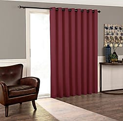 Ellery Homestyles Eclipse 15945100X084SAN Tricia 100-Inch by 84-Inch Thermal Patio Door Single Panel, Sangria