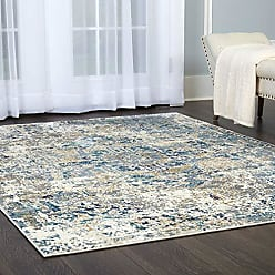 Home Dynamix Shabby Chic Heritage Brandt 33-705 Area Rug 710x102, Vintage/Distressed Bohemian Gray/Blue