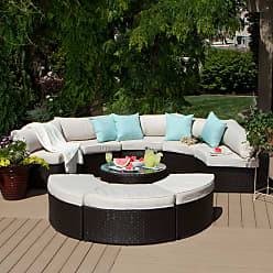 Havenside Home Isla 9-piece Outdoor Sectional (Isla 9 piece Sectional)