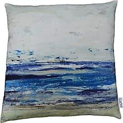 Moe's WOYBR TS-1017-37 Ocean Velvet Cushion W/Feather Insert W