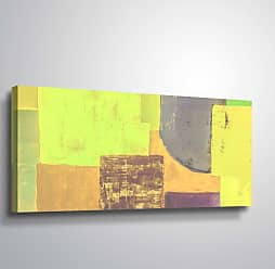 Brushstone Chromatic Geometry by Scott Medwetz Gallery Wrapped Canvas, Size: 12x24 - 0MED829A1224W