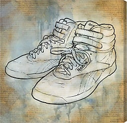 Hatcher & Ethan Classic Kicks Canvas Wall Art - HE14388_43X43_CANV_XXHD_HE