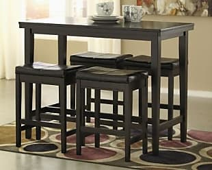 Ashley Furniture Kimonte Counter Height Dining Room Table, Dark Brown