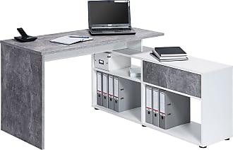 Tables pour bureau en gris maintenant jusqu à − stylight