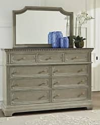 Ashley Furniture Borlend Dresser and Mirror, Two-tone Brown