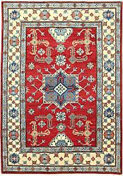 Nain Trading Oriental Kazak Rug 59x311 Beige/Orange (Wool, Afghanistan, Hand-Knotted)