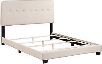 Boraam 95155 Helene Box Queen Bed, Tan