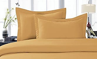 Elegant Comfort 1500 Thread Count Egyptian Quality 3 Piece Wrinkle Free and Fade Resistant Luxurious Duvet Cover Set, Full/Queen, Gold
