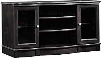 Sauder Sauder 412871 Regent Place Panel Tv Stand, For TVs up to 50, Estate Black finish