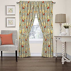 Ellery Homestyles Waverly 15398052084CLY Sanctuary Rose 52-Inch by 84-Inch Floral Single Window Curtain Panel, Clay