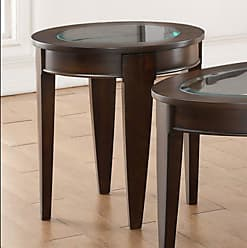 United Furniture 22 in. Round End Table - Dark Walnut - 7519-47