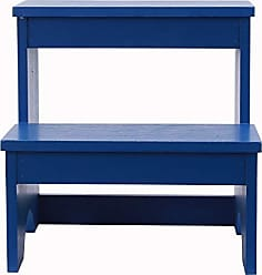 Decor Therapy FR9464 Step Stool, Blue