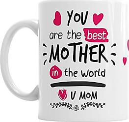 con scritta in lingua inglese This Is What An Awesome Mum Looks Like Tazza regalo per la festa della mamma in ceramica