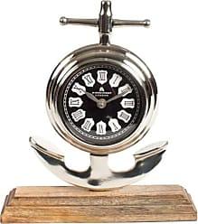 Privilege International Aluminum Table Clock