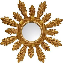 Hickory Manor House HM204GL 29 Solare Mirror/Gold Leaf